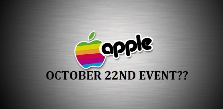 What to Expect from Apple's October 22nd Event
