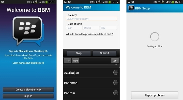 BBM for Android, iOS Racking Up Downloads