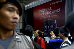 Troubled BlackBerry Riding Android Waves in Indonesia
