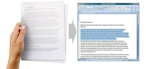 How to convert Scanned JPEG to Editable Word File