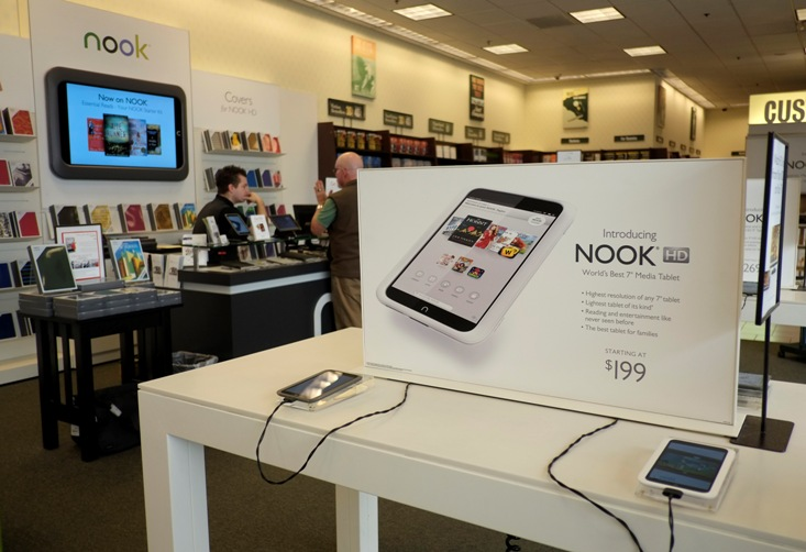 Nook Media Pact Ended by Microsoft and Barnes & Nobles