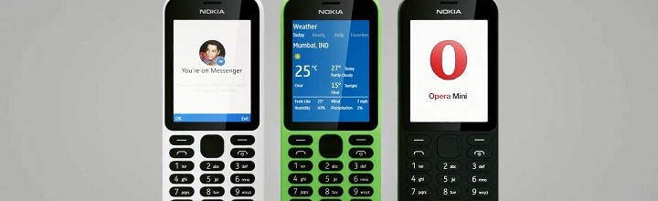 Taking a Look at Nokia 215