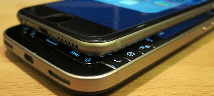 How iPhone Cold-Cocked BlackBerry