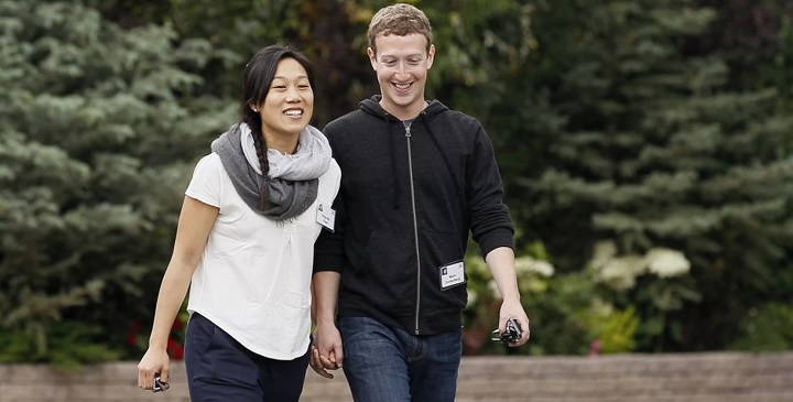 Facebook CEO Expecting a Baby Girl with Wife Priscilla Chan