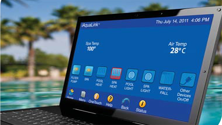 Program Your Swimming Pool With A Remote Control Device