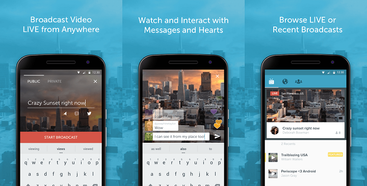 Twitter Introduces Periscope Live Video