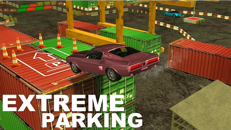 Extreme Parking Mania: New Way To Prove Your Driving Skills