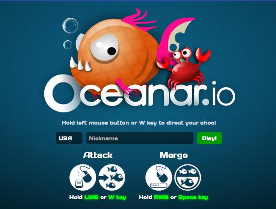 New io Game Launches: Oceanar.io