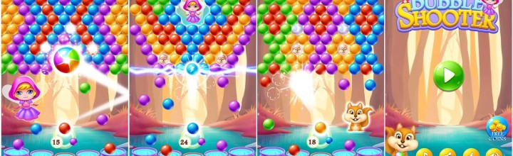 Play Bubble Shooter and Become Addicted with Bubble Rescue