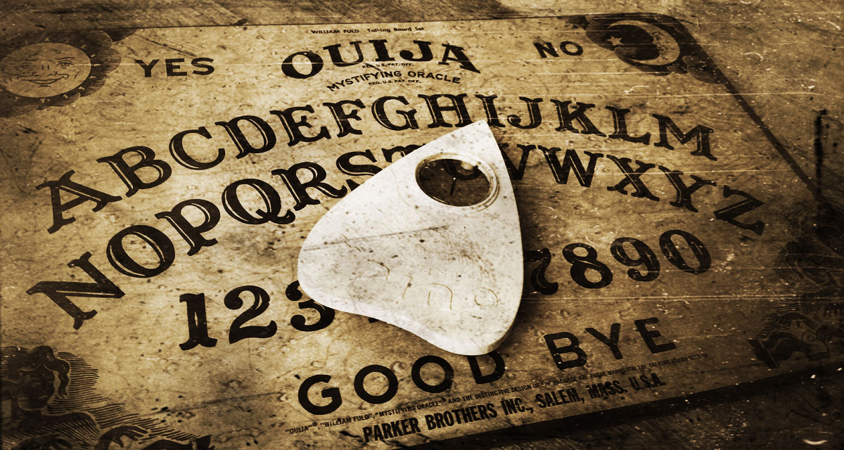 A Real Virtual Ouija Board Experience
