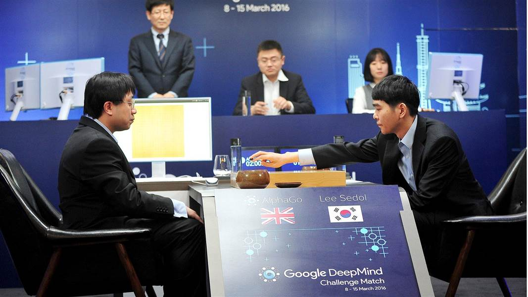 The Human Go Champion Takes a Defeat Against Google's AI