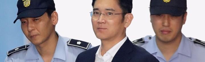 Samsung Leader Gets Five Year Sentence