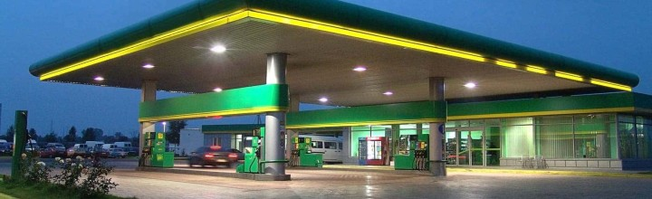 4 Ways to Choose a Brightly Lit Gas Station with Canopy Lighting