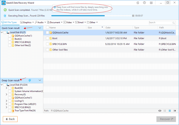 EaseUs Data Recovery Wizard: Recover your Data with Ease