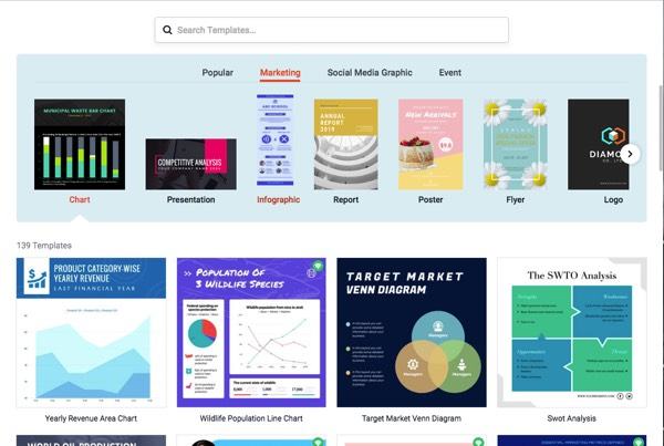 Create Infographic, Presentations or Advertisements Easily with DesignCap